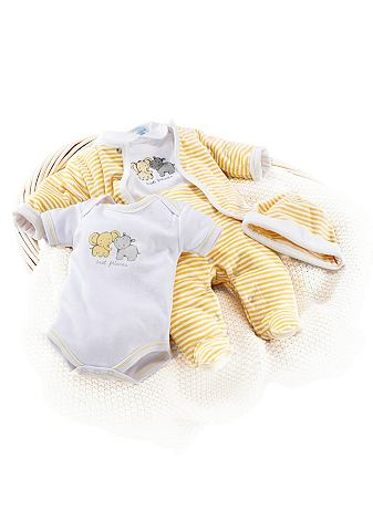 KLITZEKLEIN 5-delige baby-set van nickystof