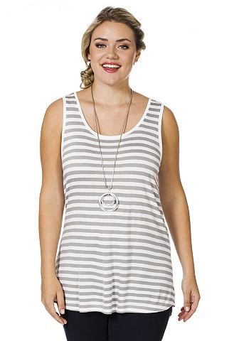 SHEEGO Tanktop van viscose