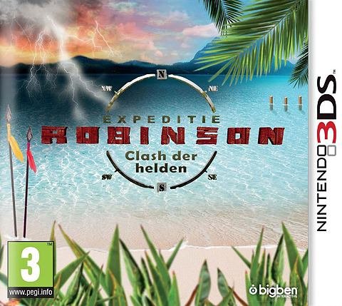 3DS Game Expeditie Robinson 2014