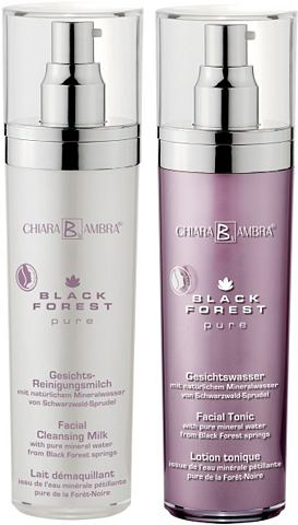 CHIARA AMBRA® Gezichtsreiniging Black Forest Pure
