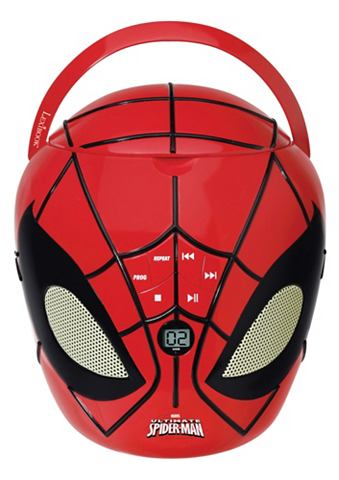 Spiderman Boombox CD Player Design