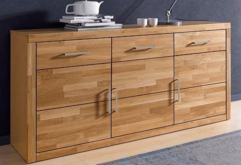 Sideboard van massief hout