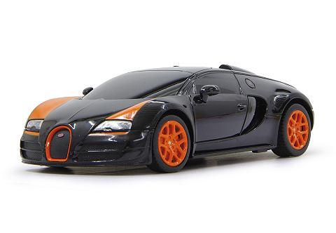Jamara Bugatti GrandSportVitesse1:24 zwart 40MH