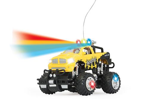 Jamara Dancing Car geel 1:22 m. LED,Sound 27Mhz