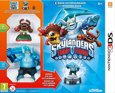 3DS Skylanders: Trap Team