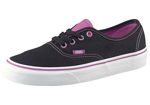Vans AUTHENTIC Sneakers laag black/radiant orchid