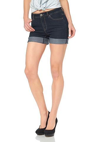 ARIZONA High-waist-jeans-short in 5-pocketsstijl