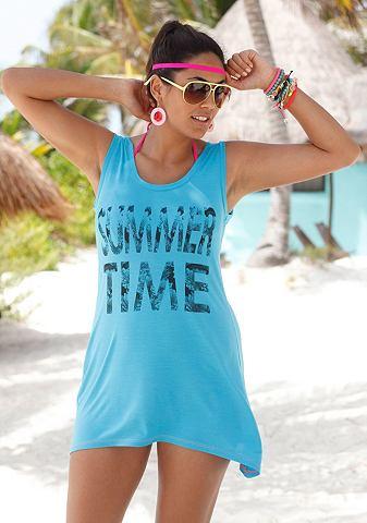 VENICE BEACH Lang shirt met zomerprint