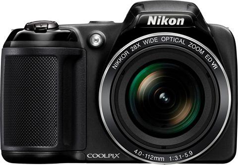Nikon COOLPIX L340 Zwart - 20,2 MP, 28x optische zoom