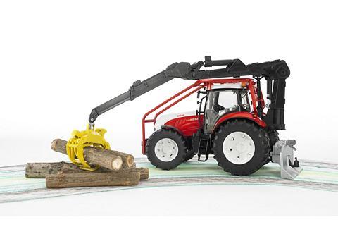 Bruder Steyr Cvt 6230 Bosbouw Tractor