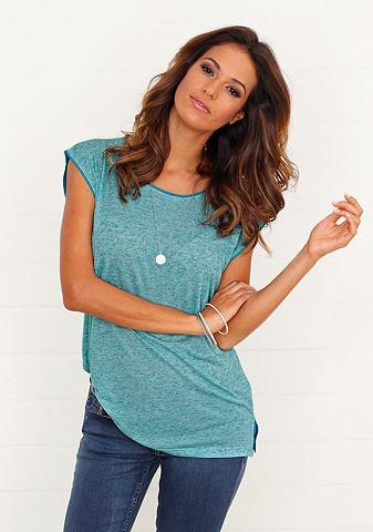 BUFFALO T-shirt in mêlee-look