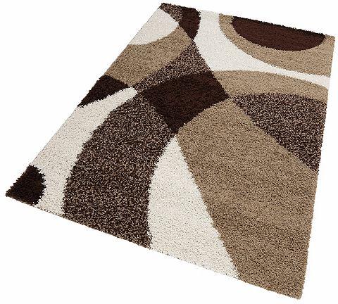 MY HOME Hoogpolig karpet Kassel hoogte ca. 30 mm