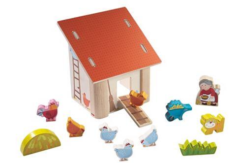HABA® Speelwereld Oma Leni's kippenboerderij