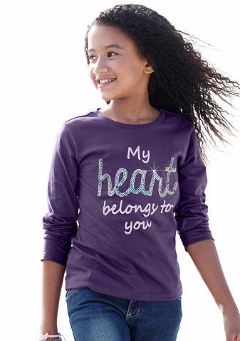 CFL Shirt met lange mouwen en pailletten