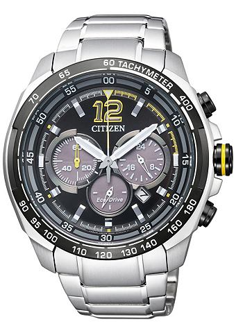 CITIZEN Chronograaf met Eco-Drive CA4234-51E