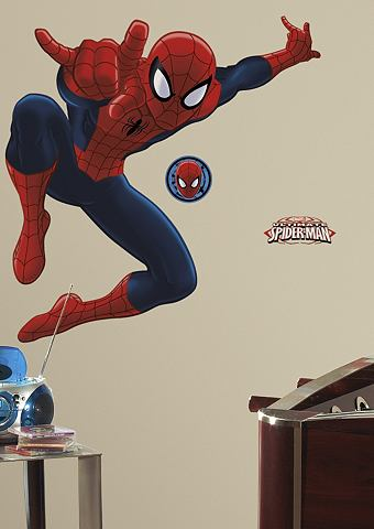 Marvel RoomMates Muursticker Spider-Man - Multi
