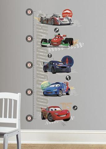 Disney RoomMates Muursticker Cars 2 Growth Chart - Multi