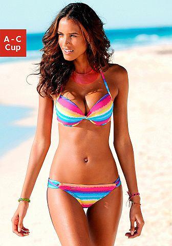 CHIEMSEE Push-up-bikini in neonkleuren