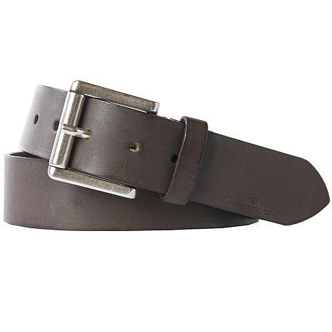 Nu 15% Korting: Tom Tailor Riem »classic Leather Belt«