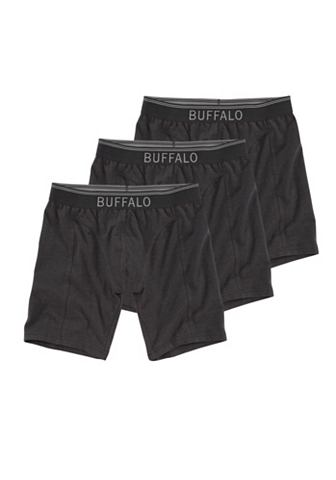 BUFFALO Lange boxershort in set van 3