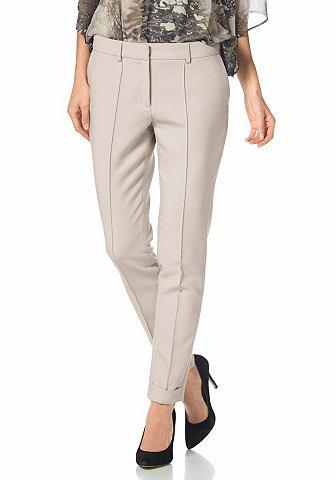 S.OLIVER PREMIUM Pantalon met enkellange pijpen