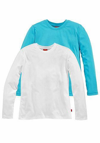 Shirt met lange mouwen, CFL, set van 2