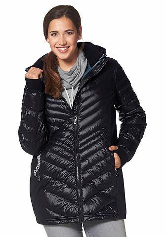 KANGAROOS Doorgestikte jas met staande kraag