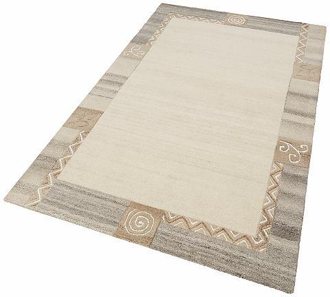 THEKO Karpet Celine wol met de hand vervaardigd