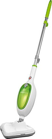CLEAN MAXX Stoomborstel Compact wit/limegreen
