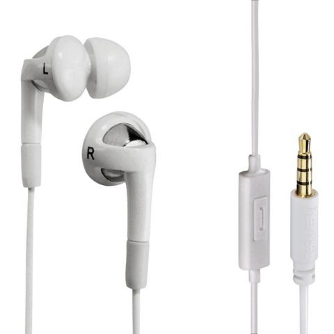 Hama Hook in-ear hoofdtelefoon wit