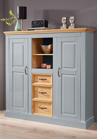 HOME AFFAIRE highboard »Selma«, breedte 130 cm