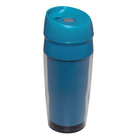 Xavax Travel drinkbeker met drukknop blauw