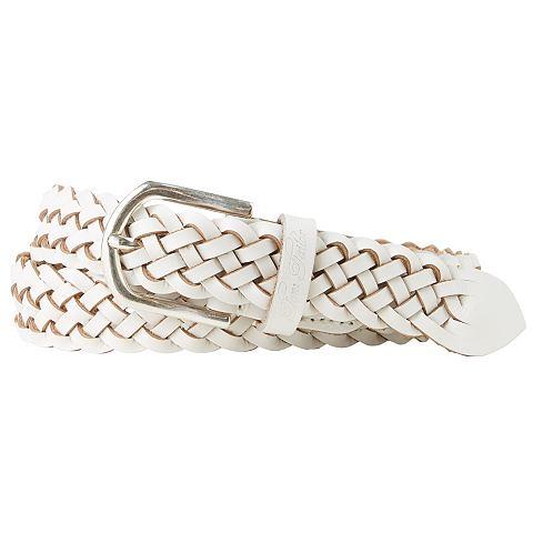 Tom Tailor Riem »braided Leather Belt«