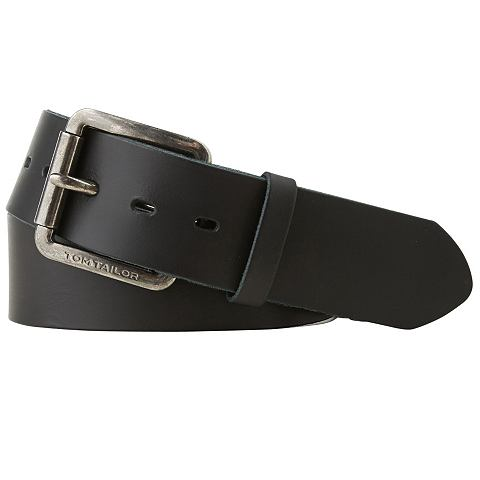 Tom Tailor Riem »heavy Used Look Leather Belt«