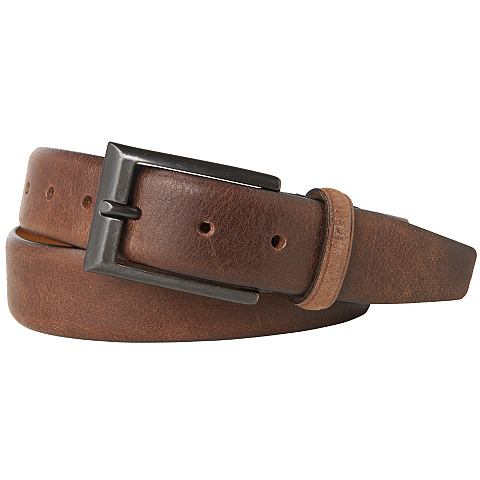 Tom Tailor Riem »leather Belt With Intense Used Look«