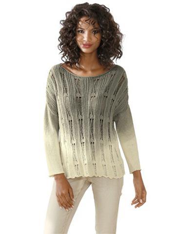 Pullover met ronde hals