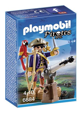 PLAYMOBIL® Piratenkapitein Eenoog 6684 Pirates