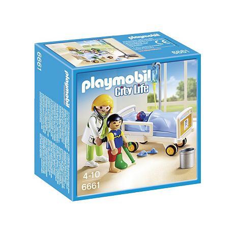 PLAYMOBIL® Ziekenhuiskamer met arts 6661 City Life