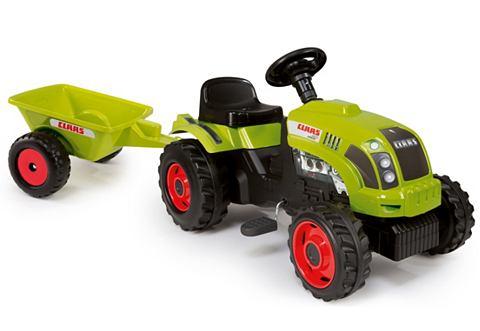 SMOBY Traptractor Claas-tractor met aanhanger
