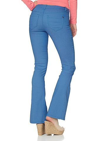 AJC Flared-jeans super-stretch met draagcomfort