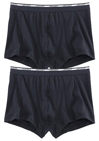 JOCKEY Boxershort met logo-opschrift in set van 2