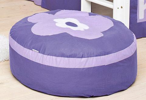 HOPPEKIDS Zitzak Purple Flower
