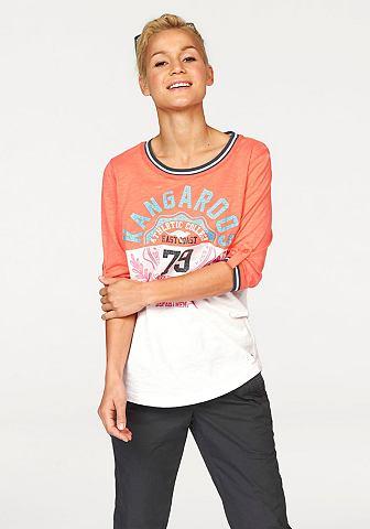 KANGAROOS Shirt in colourblocking-stijl