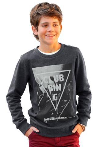 H.I.S Sweatshirt met grote fotoprint en ronde hals