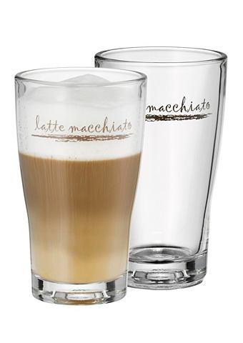 Latte macchiato-glas, WMF, set van 2