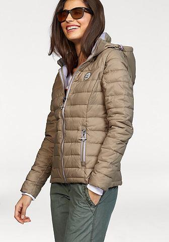 KANGAROOS Doorgestikt jasje met afneembare mouwen