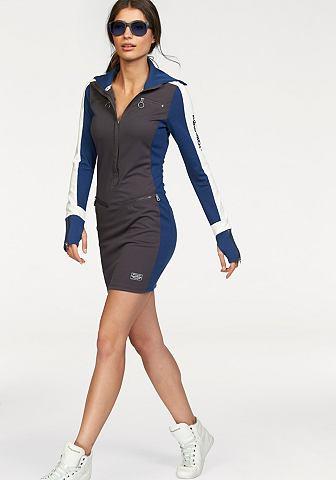 KANGAROOS Jersey-jurk met lange mouwen