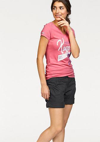 KANGAROOS T-shirt met grote vintage-print voor