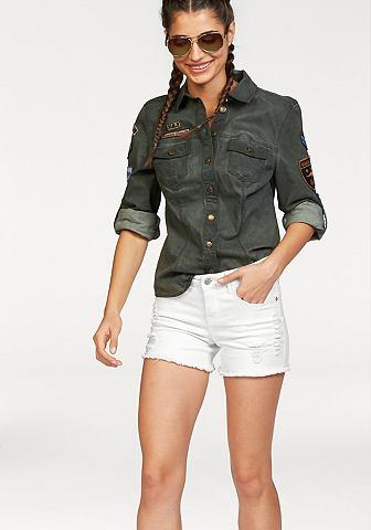 KANGAROOS Jeans-overhemd met coupenaden