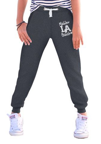 ARIZONA Joggingbroek met print voor meisjes